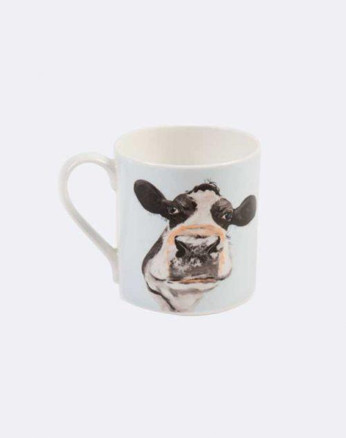 Cow print animal mug