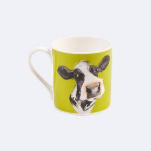 Green Cow Mug