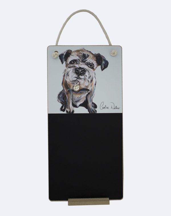 Terrier Dog Chalkboard