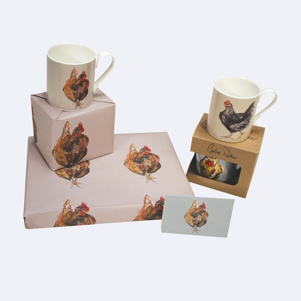 Chicken Hen Wrapping Paper Gift wrap