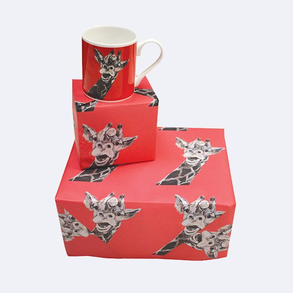Giraffe Wrapping Paper Gift wrap