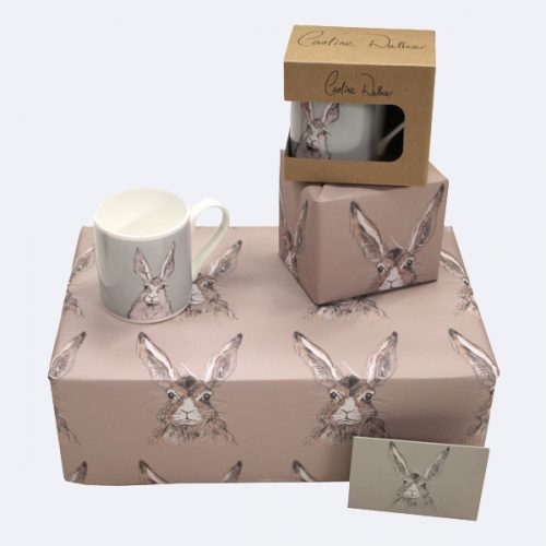 Hare Rabbit Wrapping Paper Gift wrap